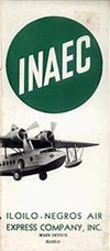 INAEC - Iloilo-Negro Air Express Co. c. 1939