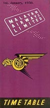Malayan Airways 1950