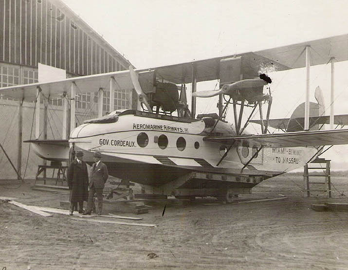 Aeromarine Model 75 'Gov. Cordeaux' at Keyport, NJ