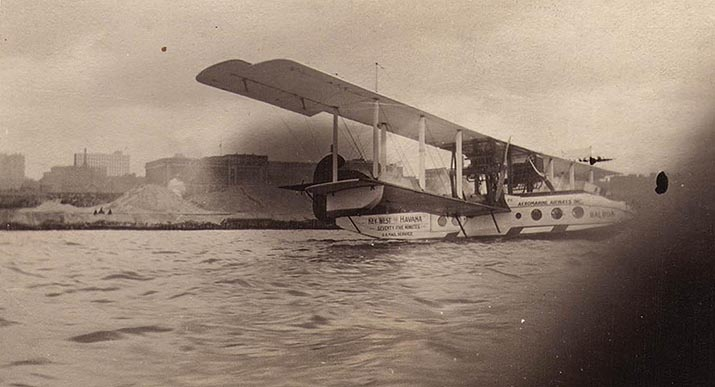 Aeromarine Model 75 'Balboa' at Cleveland