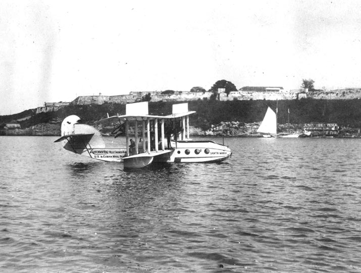 Aeromarine Model 75 'Santa Maria' in Havana